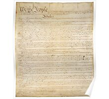 Page 1 of the United States Constitution Poster