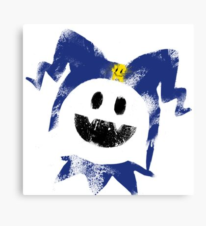 Frosty Splat! Canvas Print