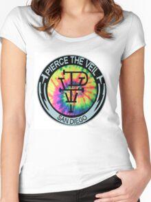 Pierce The Veil T-Shirt Women's Fitted Scoop T-Shirt