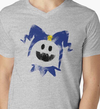 Frosty Splat! Mens V-Neck T-Shirt