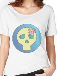 Cute Skull Women's Relaxed Fit T-Shirt