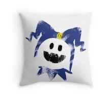 Frosty Splat! Throw Pillow