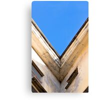 Roof and sky Canvas Print