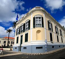 Palace in Azores by Gaspar Avila