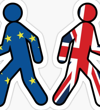 UK Leaving The EU Sticker