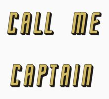 Call Me Captain: gold version by amymhughes