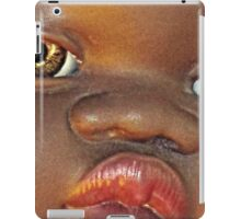 black baby doll iPad Case/Skin