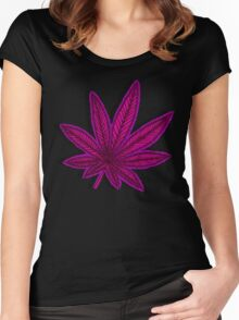 Sweet Leaf 2 Women's Fitted Scoop T-Shirt