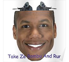 Reyd Bombu Face Poster