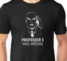 Professor X was wrong (Black) Unisex T-Shirt