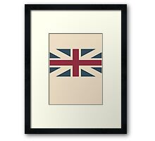 UK Flag Framed Print
