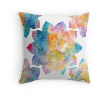 Lotus Flower 10 petals Throw Pillow