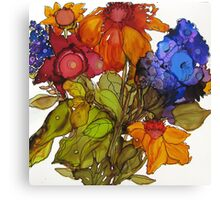 Floral Celebration Canvas Print