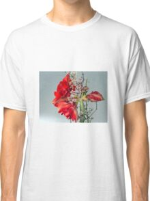 Red flowers Classic T-Shirt