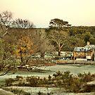 Frosty Morning - Hill End NSW Australia by Bev Woodman