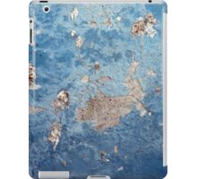 Blue Abstract Background Texture iPad Case/Skin