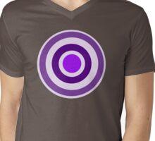bullseye Mens V-Neck T-Shirt