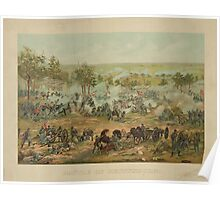 Battle of Gettysburg by Paul Philippoteaux (1898) Poster