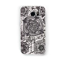 Flowers in Black Samsung Galaxy Case/Skin