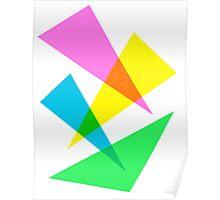 Triangular Design Poster