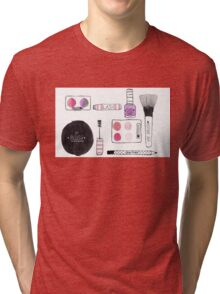 Makeup Collection Tri-blend T-Shirt