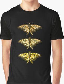 Golden Moth Graphic T-Shirt