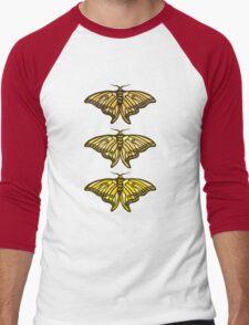 Golden Moth Men's Baseball ¾ T-Shirt
