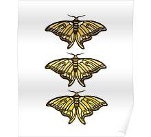 Golden Moth Poster