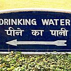 Drinking Water Sign © by Ethna Gillespie