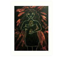 Goddess - Pele Art Print