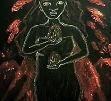 Goddess - Pele by Paola Suarez
