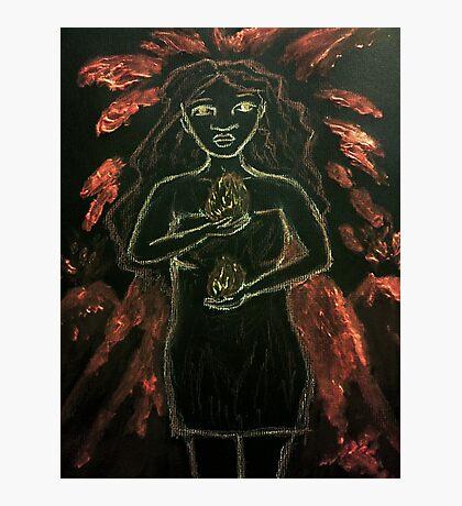 Goddess - Pele Photographic Print