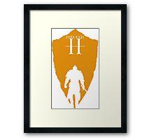 Knight Armour Shield Framed Print