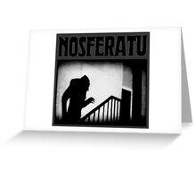 Count Orlok Greeting Card
