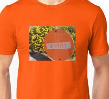 Entry/No Entry Unisex T-Shirt