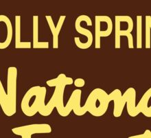 Holly Springs National Forest Sticker