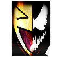 Comical Carnage Large Logo Poster