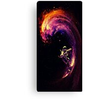 Space Surfing Canvas Print