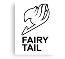 Fairy Tail Anime Guild Mark Logo Render Design Canvas Print