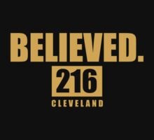BELIEVED.  - Cleveland - Finals tee One Piece - Long Sleeve