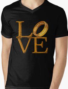 Love is Precious Mens V-Neck T-Shirt