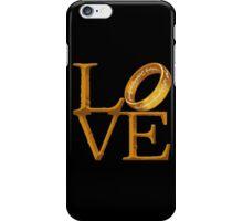 Love is Precious iPhone Case/Skin
