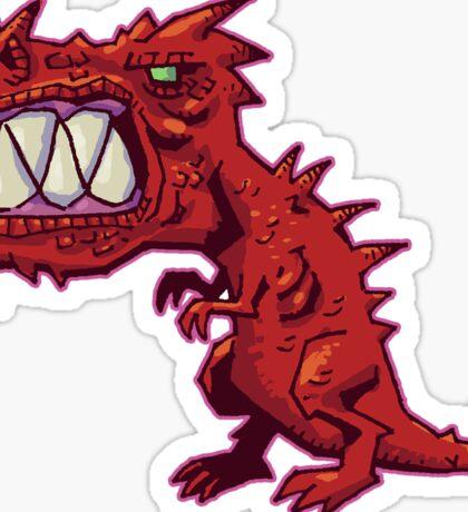 Fiendish T-Rex Sticker