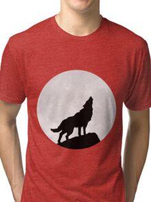 Wolf Moon Tri-blend T-Shirt