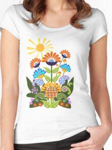 Summer Cheer Women's Fitted Scoop T-Shirt