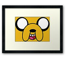 Jake from adventure time! Framed Print