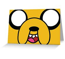 Jake from adventure time! Greeting Card