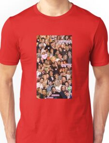 Gillian Anderson and David Duchovny collage Unisex T-Shirt