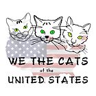 We The Cats Of The United States by funnypixel