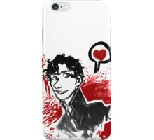 Sherlock Holmes- Red Version iPhone Case/Skin